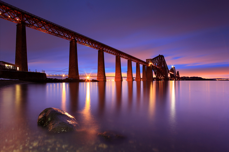 Forth Rail Bridge - South Queensferry Lothian